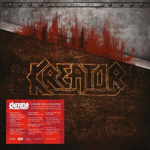 CD Shop - KREATOR UNDER THE GUILLOTINE (6 LPS, DVD, 40 PAGE BOOK, CASSETTE, USB FIGURINE)