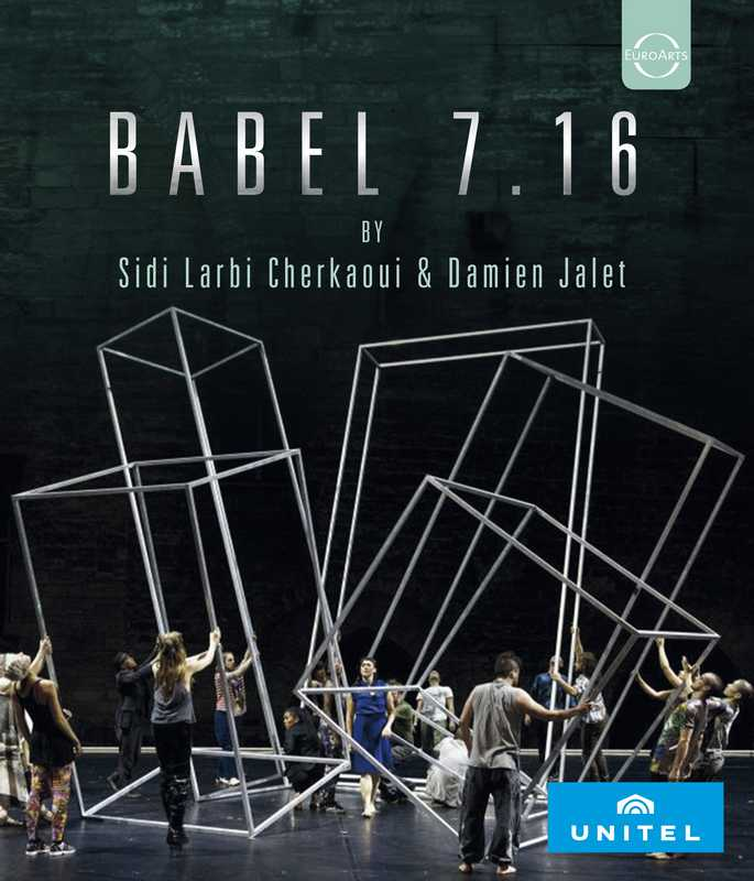 CD Shop - CHERKAOUI/JALET EUROARTS - ABEL 7.16 (WORDS) - SIDI LARBI CHERKAOUI & DAMIEN JALET, FROM THE COUR D