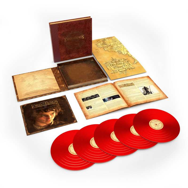 CD Shop - OST / SHORE, HOWARD THE LORD OF THE RINGS: THE FELLOWSHIP OF THE RINGS - THE COMPLETE RECORDINGS