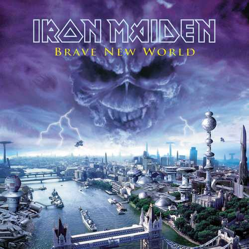 CD Shop - IRON MAIDEN BRAVE NEW WORLD