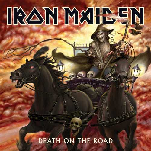CD Shop - IRON MAIDEN DEATH ON THE ROAD