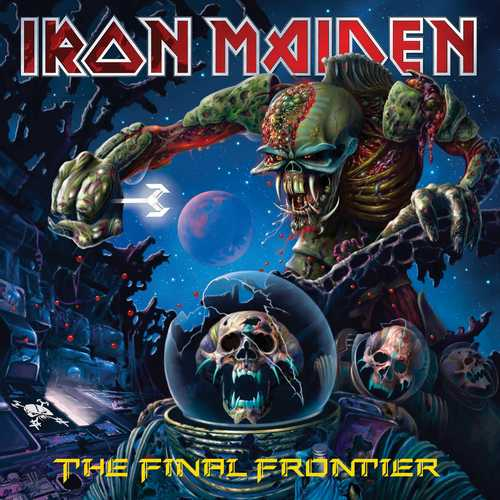 CD Shop - IRON MAIDEN THE FINAL FRONTIER