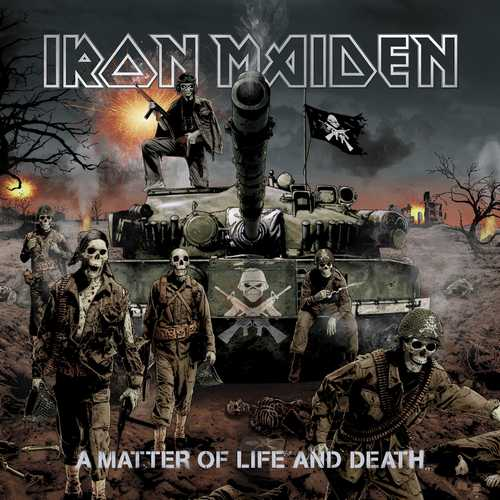 CD Shop - IRON MAIDEN A MATTER OF LIFE & DEATH