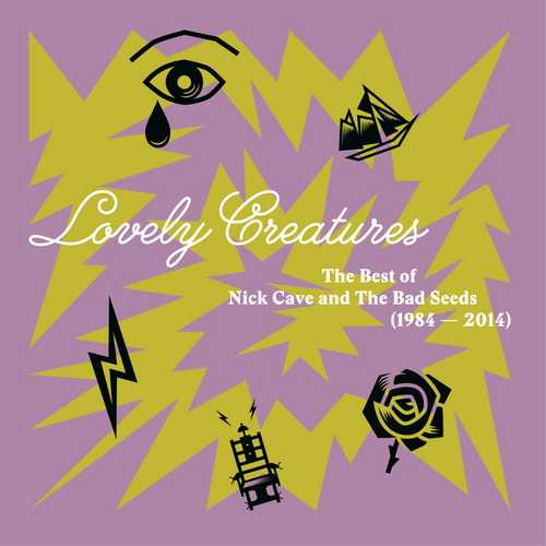 CD Shop - CAVE, NICK & THE BAD SEEDS LOVELY CREATURES - THE BEST OF 1984-2014 (3LP)
