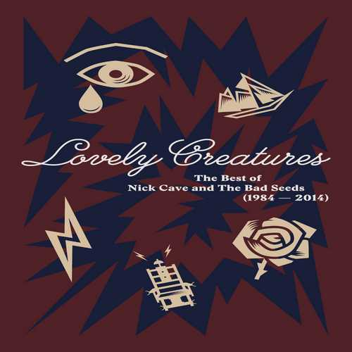 CD Shop - CAVE, NICK & THE BAD SEEDS LOVELY CREATURES - THE BEST OF 1984-2014 (3CD+DVD+BOOK) - LIMITED