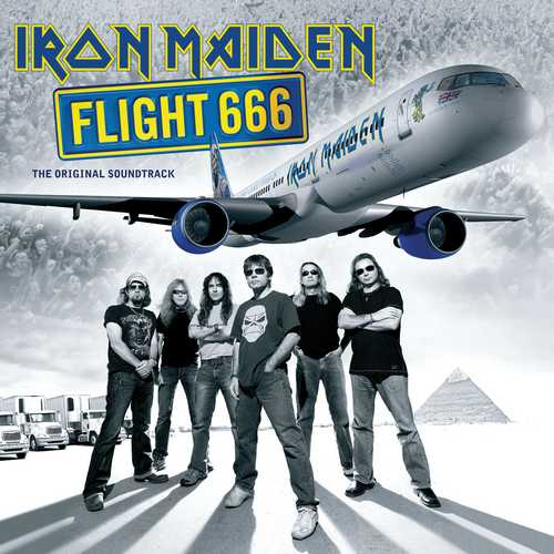 CD Shop - IRON MAIDEN FLIGHT 666